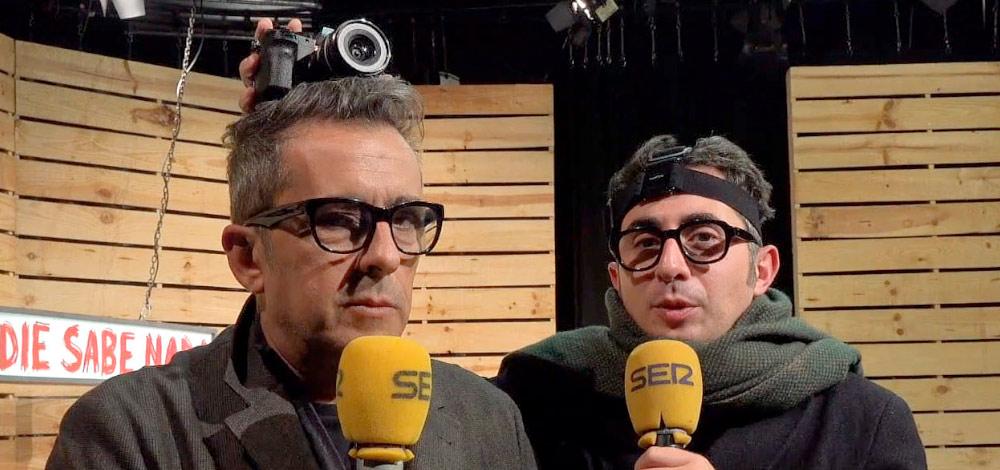 13:00h. | 'Nadie sabe nada' amb ANDREU BUENAFUENTE y BERTO ROMERO